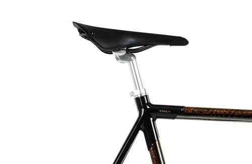 EMKY Bikes Black Diamond Brooks Cambium C17 all weather