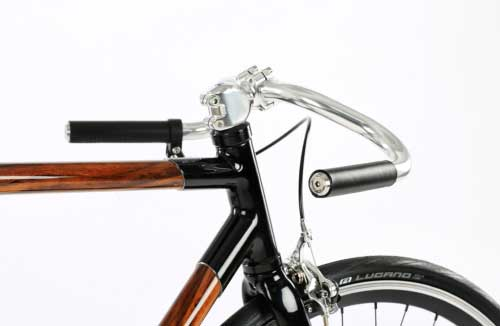 EMKY Bikes victor natural leather